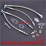 Turbo oil & water line kit