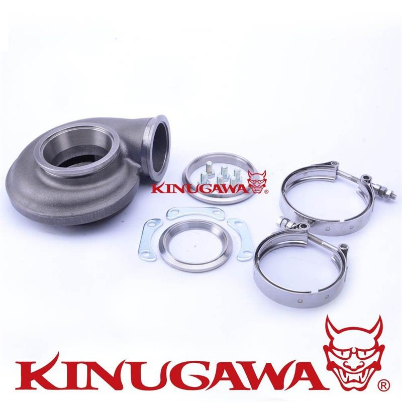 Kinugawa In & Out V-Band Turbine Housing Garrett GT3076R GTX3076R
