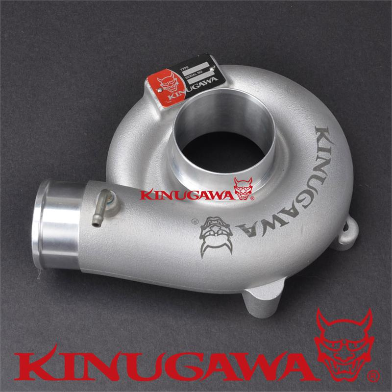 """Details about  / 2.25/"""" Inlet Turbo Cover Housing For SUBARU T518Z TD05 TD06 20G"""