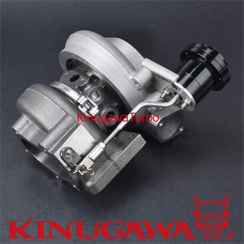Garrett Twin Turbo Kit: Kinugawa Twin Turbocharger Kit Bolt-On TD05H-20G Nissan