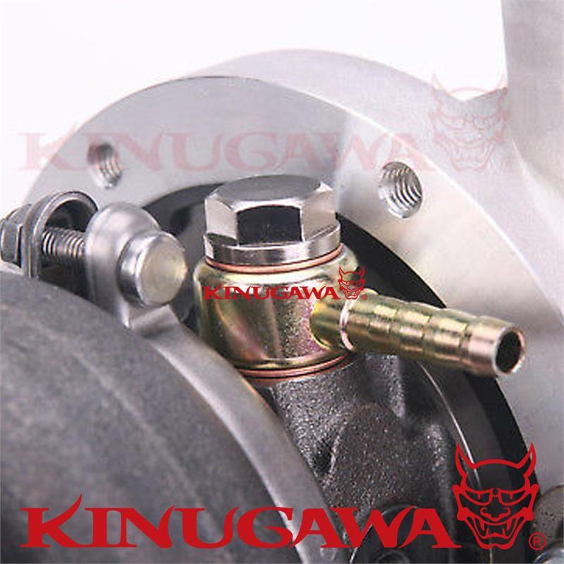 "8mm Kinugawa Turbo Water Banjo Fitting M12x1.5 to 5//16/"" Hose Barb"