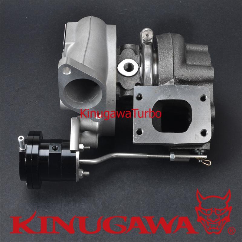 Garrett Twin Turbo Kit: Kinugawa Twin Turbocharger Kit Bolt-On TD05H-16G Nissan