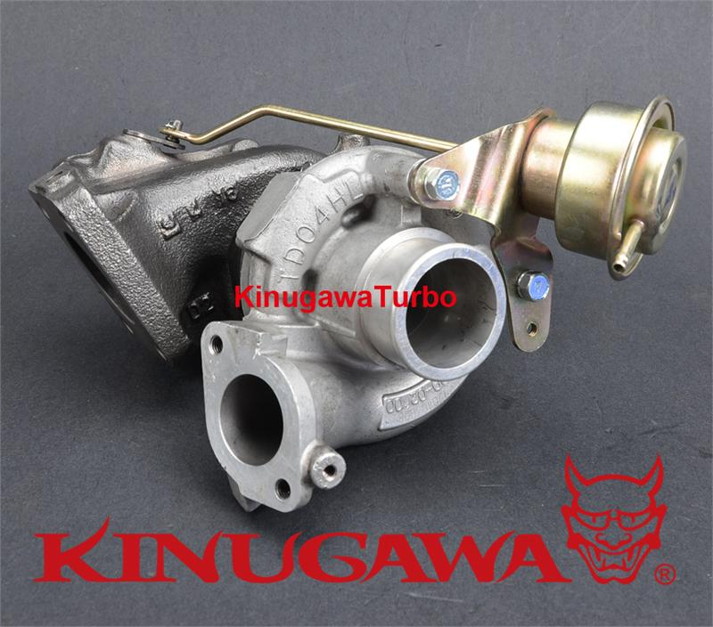 Turbo Install Kit For Mitsubishi 4G63T RVR w/ stock TD04HL 13T 15T